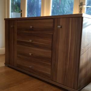 Walnut Sideboard unit for sale