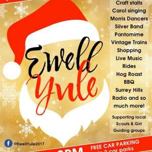 Yule Ewell - Ewell Village fun! - Friday 1st December 2017 - 5pm to 8pm