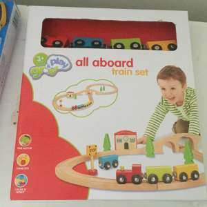 For sale: Wooden train set